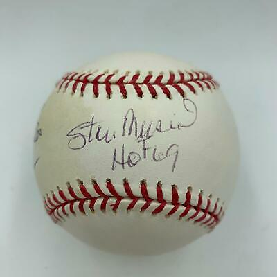 Stan Musial Hall Of Fame 1969 Signed Official Major League Baseball With JSA COA