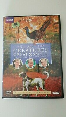 All Creatures Great and Small - Series Two Set (DVD, 2010, 4-Disc Set)