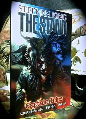 STEPHEN KING: THE STAND CAPTAIN TRIPS ~ MARVEL HORROR ~ 1ST PRINT HC w/ D/J 2009