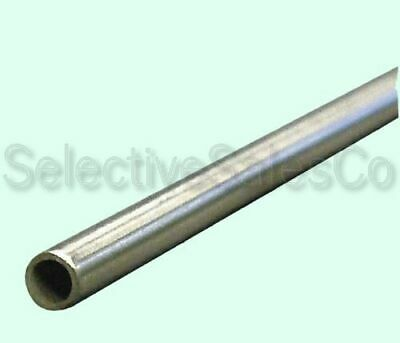 """Round Tubing 304 Stainless Steel  5/16"""" OD x 6 ft.  Welded 0.257"""" Inside Dia."""