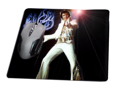 Original King of Rock n Roll Elvis Presley Music In the Spotlight Mouse Pad MU-5
