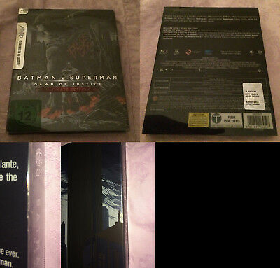 Batman V Superman - Theatrical & Ultimate Ed. – Mondo Steelbook (2 Blu Ray)