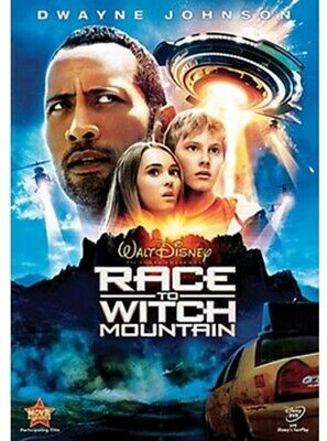 Race to Witch Mountain (DVD, 2009) USED