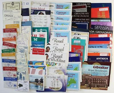 88 x C/W Booklets. A mix of Commonwealth Countries Booklets Unchecked  All Shown