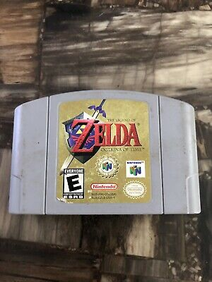 N64 Nintendo 64 The Legend Of Zelda Ocarina Of Time Game Cartridge