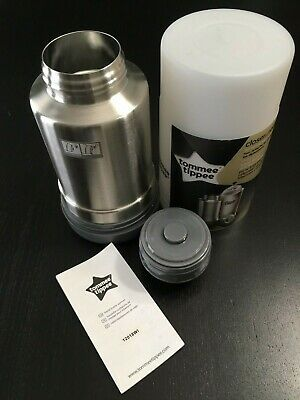 Tommee Tippee Travel Bottle Baby Food Milk Warmer Infant Toddler Thermal Flask