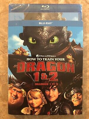 SEALED How To Train Your Dragon 1&2 Blu Ray Canada First 3 Sold Have Slip Cover