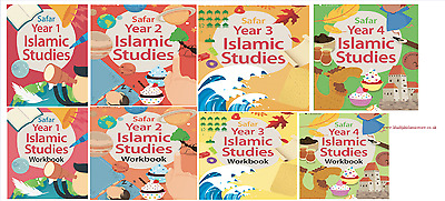 Safar- Islamic Studies Book TextBook/ WorkBook 1-4