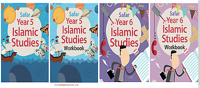 Safar- Islamic Studies Book Text Book/ Workbook 5-6