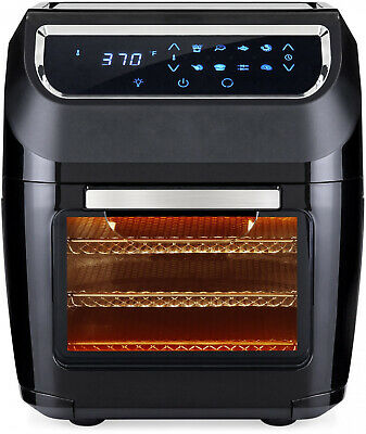 Electric XL 8-in-1 Air Fryer 11.6Qt Oven Rotisserie Dehydrator 8 Accessories New