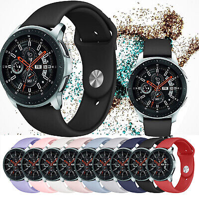Silicone Replacement Sport Band Strap Wristband for Samsung Galaxy Watch 42/46mm