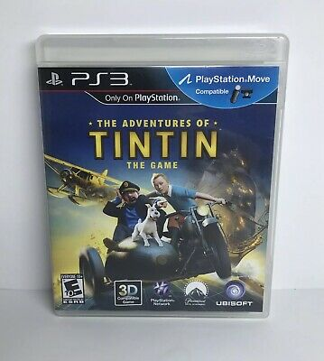The Adventures of Tintin: The Game (Sony PlayStation 3, 2011) COMPLETE/TESTED