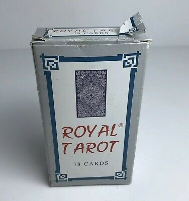 Royal Tarot Fortune Telling Cards 78 Cards