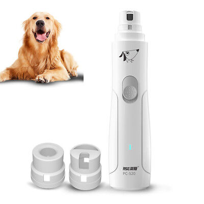 Pet Nail Grinder for Dog Cat  Paw Grooming Trimmer Tool Clipper USB Rechargeable