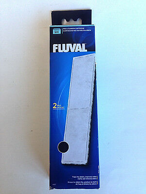 NEW & SEALED - FLUVAL U4 Poly/Carbon Cartridges, Filter Media, # A492 - 2 Pack