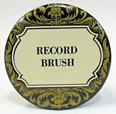 generic RECORD BRUSH advertising celluloid record cleaner brush ^