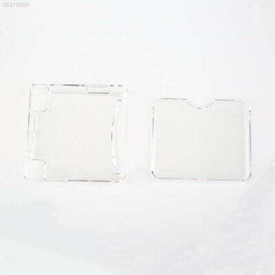 14E3 White Transparent Crystal Case Shell Protection Cover Sleeve For GBA SP