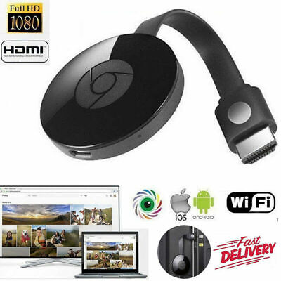 Chromecast 3rd Generation 3 Digital HDMI 1080P Media Video Streamer For Google
