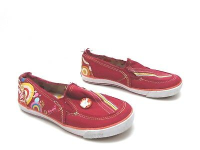 784fa36fb377 YOUTH GIRLS KEDS Shoes ICarly Canvas Slip on Casual ASAP Berry NEW ...