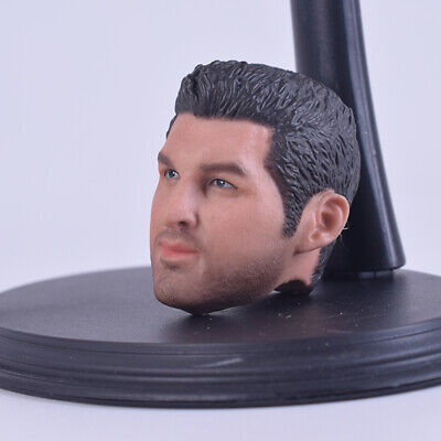 1//6 Sports Star Tim Tibo Head Sculpt A-25 Male Head Fit 12/'/' Body Action Figure