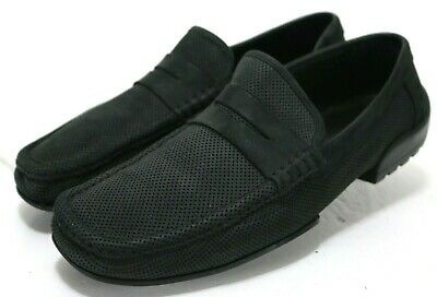 d1902c270df Bruno Magli Men s  140 Penny Loafers Shoes Size 11 Black Hand Made In Italy