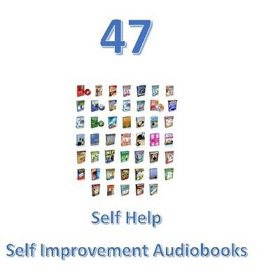 47~SELF HELP~Self Improvement Audiobooks W-Resale Resell Rights MP3 Free-Ship