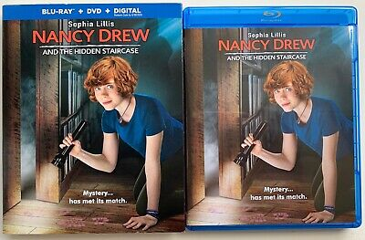 Nancy Drew And The Hidden Staircase Blu Ray Dvd 2 Disc Set + Slipcover Sleeve