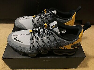 40ba52a83df Nike Air Vapormax Run Utility Men s sz 10 Wolf Grey Black Amarillo AQ8810  010