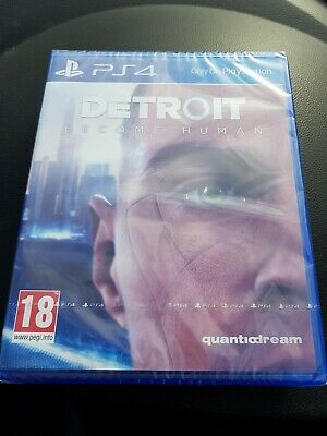 Detroit: Become Human PS4 new sealed