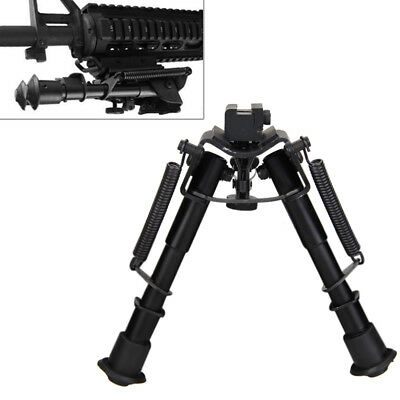 "6-9""Adjustable Rifle Bipod Picatinny/Weaver/Rial/Shootgun 11/20mm QD RailMount"