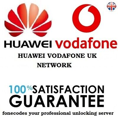 Unlock Code for Vodafone UK Huawei P30 P30 Pro Mate 20 Pro Mate 10 Pro P9 P10 P8
