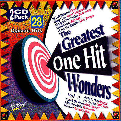 (70s & 80s) THE GREATEST ONE HIT WONDERS - VOLUME 2 / VAR ARTISTS - 2 CD SET