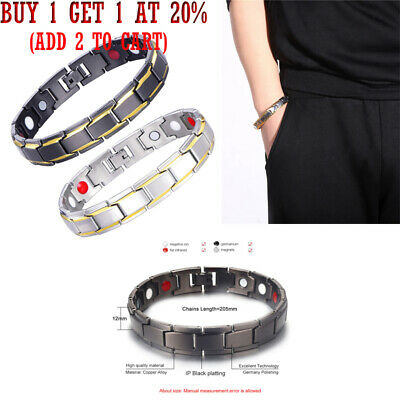 NEW Therapeutic Energy Healing Bracelet Copper Magnetic Therapy ga2