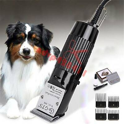 Professional Dog Trimmer Clipper Kit For Cat Animals Pet Hair Grooming GTS-888