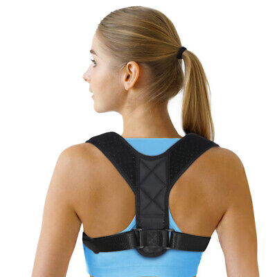 Therapy Posture Corrector Adjustable Clavicle Back Support Belt Brace Men Women