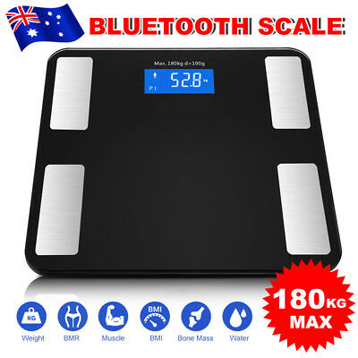 180KG Wireless Bluetooth Digital Bathroom Body Fat Scale Weight Scale Electronic