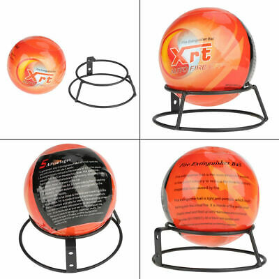 Easy Fire Extinguisher Ball Throw Tools Safety 0.5kg/1.3kg Orange Sphere Screw