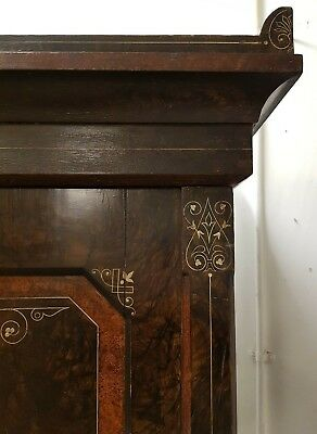 Unique original paint antique church compactum wardrobe dismantles rustic