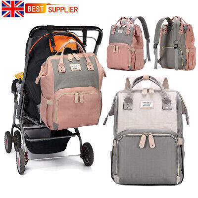 Baby Diaper Nappy Mummy Changing Backpack Maternity Hospital Bag Multifunctional