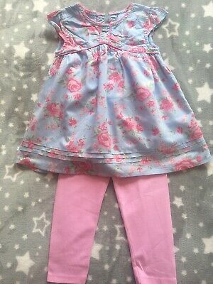 Girls Two Piece Outfit Size 12-18 Months