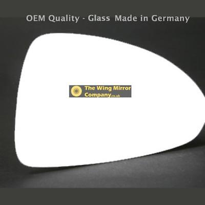 RHS Wide Angle Wing Mirror Glass For Vauxhall Corsa E Fits to reg 2015 To 2017