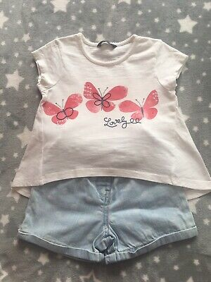 Girls Two Piece Outfit - size 2 (92cm 2-3 years)