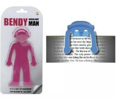 Bendy Man Light Up Book Marker