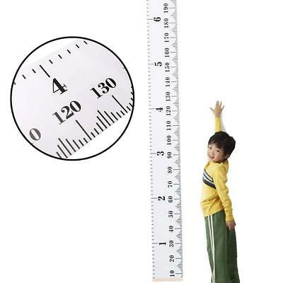 Nice Baby Growth Chart Canvas Wall Hanging Measuring Rulers for Kids Room Pretty