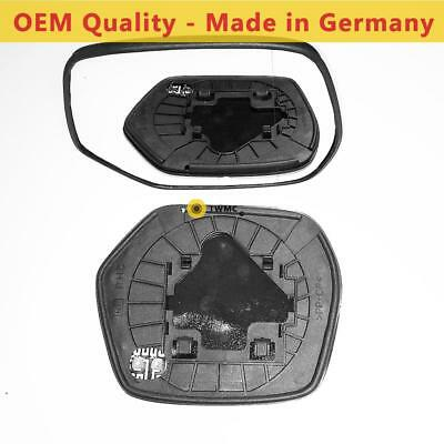 Right Side Covex Wing Mirror Glass For Fiat Scudo Clip On Non Heated Fits To Reg