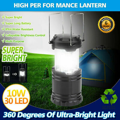 4X Solar Power LED Light Bulbs Indoor Outdoor Shed Tent Camping Hanging Lamp 15W