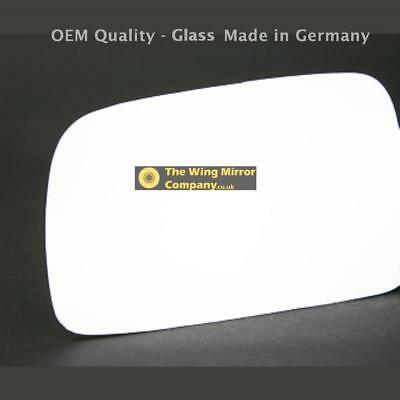 Left Passenger Side Flat wing mirror glass for Toyota Corolla Verso 04-09 Heated