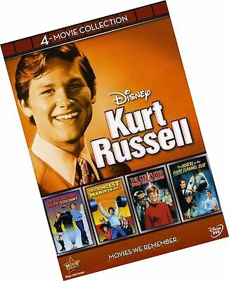 Disney 4-Movie Collection: Kurt Russell (Strongest Man in World / Computer Wo...