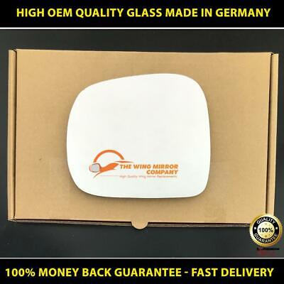 plate Right Driver side Flat Wing mirror glass for Nissan Serena 91-01 Heated
