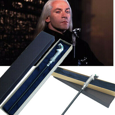 Harry Potter Lucius Malfoy Magic Magical Wand Gift Box Wizard Cosplay Prop Toy
